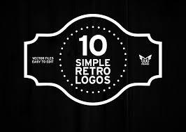 25 Beautiful Vintage Logo Templates Creative Market Blog