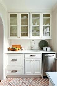 White Kitchen Cabinets Antique With Butcher Block Countertops Off