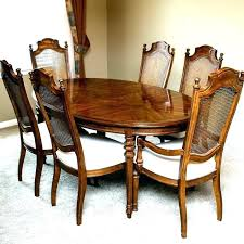 Drexel Heritage Furniture Used Dining Room Table And