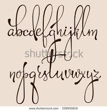 Best 25 Handwriting fonts alphabet ideas on Pinterest