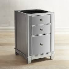 Hayworth Mirrored Dresser Silver by Hayworth Mirrored 3 Drawer File Cabinet Pier 1 Imports