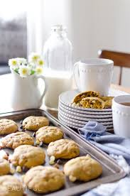 Easy Pumpkin Chocolate Chip Scones by Pumpkin Pecan Chocolate Chip Cookies A Burst Of Beautiful