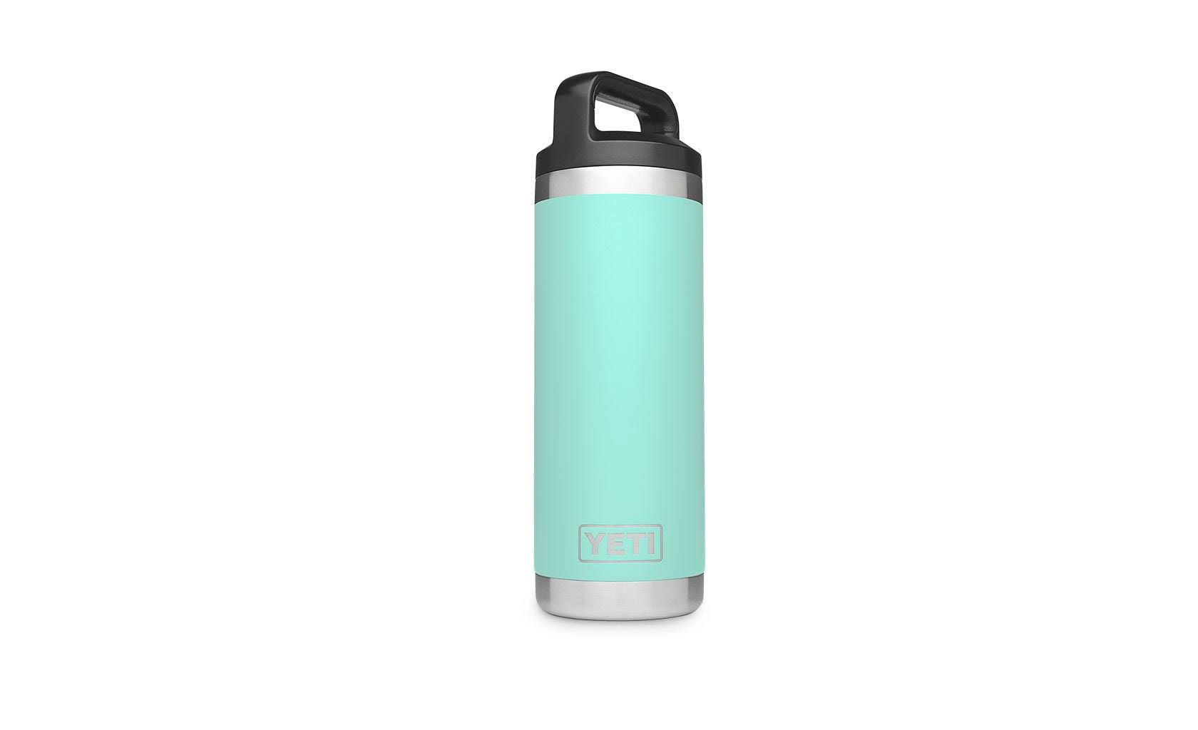 Yeti Rambler Stainless Steel Vacuum Insulated Bottle with Cap - 18oz