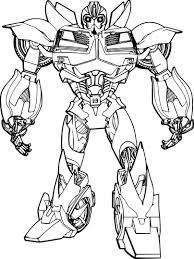 Coloriage Transformers Bumblebee à Imprimer Sur COLORIAGES Info