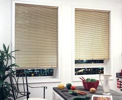 Window Blinds Lowes Panel Track Levolor Mini 2 Faux Wood Shades