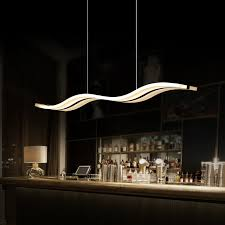 modern led pendant lights for dining room kitchen acrylic