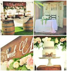 Rustic Chic Engagement Party Via Karas Ideas