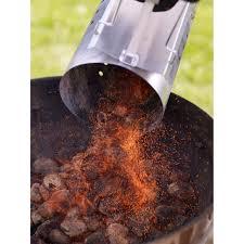 fabriquer cheminee allumage barbecue kit de cheminée d allumage pour barbecue charbon de bois castorama