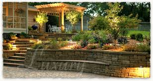 complete hardscape packages brick pavers fencing retaining