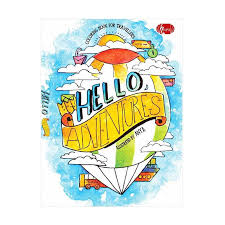 Coloring Book Rp Jual Penerbit Haru Hello Adventure By Anya Online