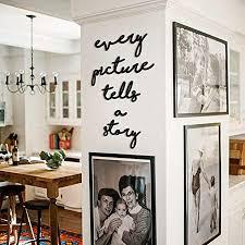 hoagard every picture tells a story metal wall schwarz metallwandkunst wanddekoration metall wanddeko für minimalistische und moderne