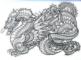 Chinese Dragon Coloring Page Pages For Adults Adventure A Book Female Archived On Head Sheet