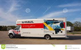 100 Uhaul Truck Rental Nyc A Vehicle With A Flat Tire At A Rest Area In The Summertime