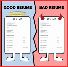 Examples Of Good And Bad Resumes | Free Letter Templates Bad Resume Sample Examples For College Students Pdf Doc Good Find Answers Here Of Rumes 8 Good Vs Bad Resume Examples Tytraing This Is The Worst Ever High School Student Format Floatingcityorg Before And After Words Of Wisdom From The Bib1h In Funny Mary Jane Social Club Vs Lovely Cover Letter Images Template Thisrmesucks Twitter