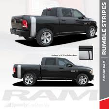 100 Ram Truck Decals Dodge Bed Stripe RUMBLE 3M 20092018 Wet And Dry Install