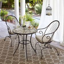 Jacqueline Smith Patio Furniture by Jaclyn Smith Spring Valley Bistro Table Limited Availability