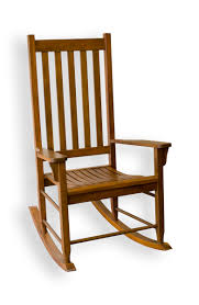 Tortuga Outdoor Wood Porch Rocker - Oak Finish