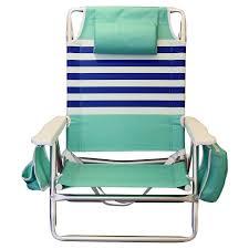 amazon com nautica beach chair rainbow stripe sports outdoors