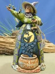 Jim Shore Halloween Ebay by Jim Shore Heartwood Creek From Enesco Witch Mini Figurine 3 375 In