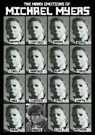 Halloween Mask William Shatners Face by The Many Faces Of Michael Myers The Many Emotions Of Michael Myers
