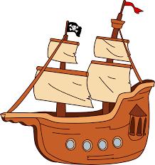 100 Design A Pirate Ship Free Clip Rt
