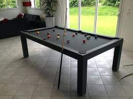 Pearl 8 Pool Table Dining Leisure Conversion Tables Billiards