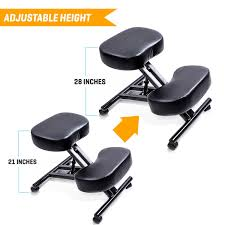Neutral Posture Chair Instructions by Amazon Com 3 Pcs Sleekform Ergonomic Kneeling Chair Adjustable