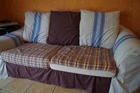 vieux canapé housse de canapé kouchka crée