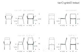 Dining Table Measurements Standard Dimension Sizes Height