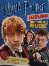 Harry Potter Jumbo Coloring Book With Door Hanger