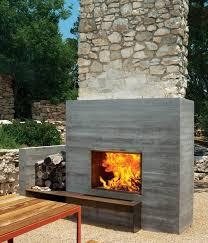 12 Amazing Modern Outdoor Fireplaces Design Milk