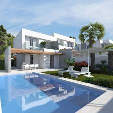 100 Modern Townhouses New 3 Bedroom Sierra Cortina Finestrat