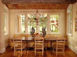 French Country Kitchen Curtains by French Country Breakfast Nook