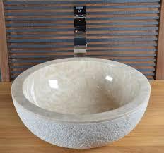 vente vasque en marbre crozon walk vasque de salle de bain en