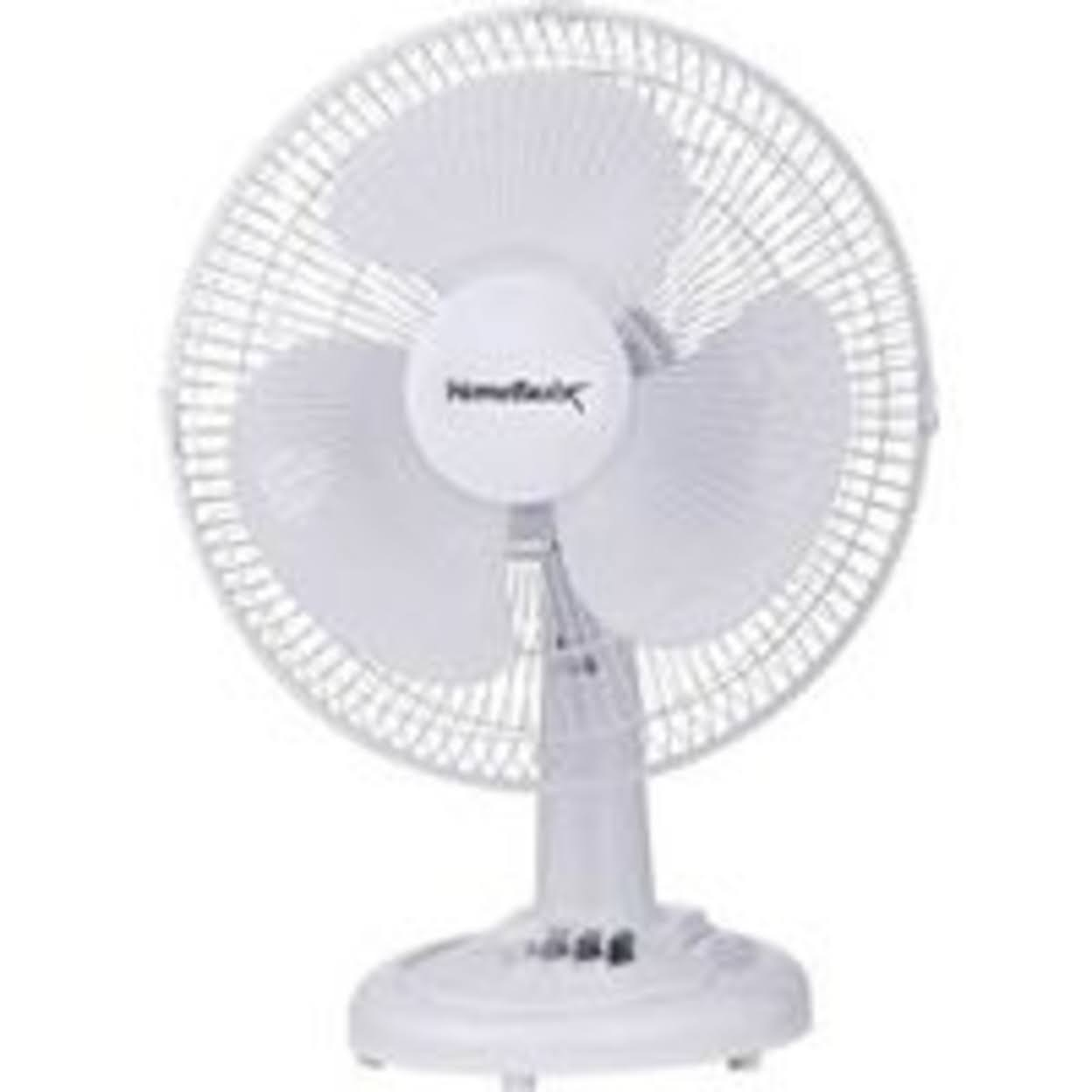 Homebasix 3 Speed Oscillating Table Fan - 12 in