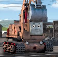 Thomas And Friends Tidmouth Sheds Wooden Railway by Oliver Excavator Thomas The Tank Engine Wikia Fandom Powered