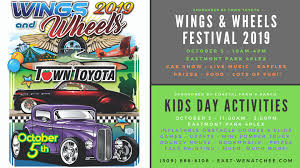 100 Coastal Wenatchee East S 17th Annual Wings And Wheels Event Happens