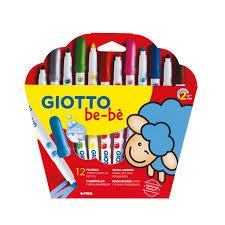 12 Feutres De Coloriage Bebè Giotto Pour Enfant De 2 Ans à 5 Ans