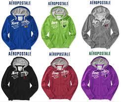 nwt aeropostale sweatshirt m u0026 l zip up hoodie jacket blue