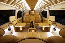 Move Over Private Jets Check Out This Luxury Van