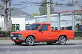 100 Old Nissan Trucks CHIANGMAI THAILAND FEBRUARY 8 2016 Private Old Pickup Car