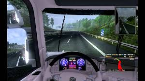 Playing Euro Truck SImulator 2 On High/Ultra Graphics With RED Mod ...
