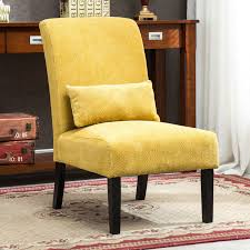 Roundhill Pisano Fabric Armless Contemporary Accent Chair With Kidney  Pillow, Multiple Colors Available Bright Ideas Big Lots Desk Chair Office Accent Chair Dark Brown Fabric Fancy Accent Chairs Your House Idea Iorpheuscom Fniture Stylish And A Half With Ottoman Design Yellow Upholstered Jane Tufted Velvet Armless With Black Birch Wood Legs Sunrise Parsons Youll Love In 2019 Wayfair Bernhardt Rigby 360sl Swivel Dunk Chair Grey Uk Good Heritage Coaster Seating W Padded Seat Charming Wetripinfo