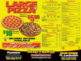 Hungry Howies Menu And Prices 2018
