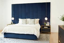 idea to eine polsterwand im schlafzimmer