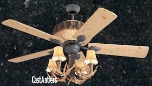Ceiling Fan Model Ac 552 Gg by Standard Size Fans 52 Rustic Faux Antler Ceiling Fan Pulls
