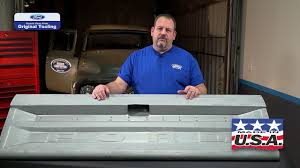 100 1977 Ford Truck Parts D7TZ9940700A Tailgate For 19731979 F100F350 Styleside YouTube