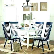 Blue Dining Room Ideas And White Navy Walls Chairs