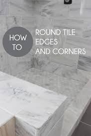 Beveled Tile Inside Corners by Home Coming How To Round Tile Corners