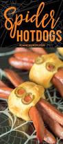 Halloween Hotdog Fingers Recipe by Spider Hotdogs Plain Chicken